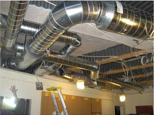 Ventilationssystemets lufttäthet